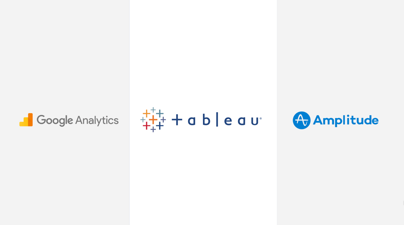 google analytics vs tableau vs amplitude