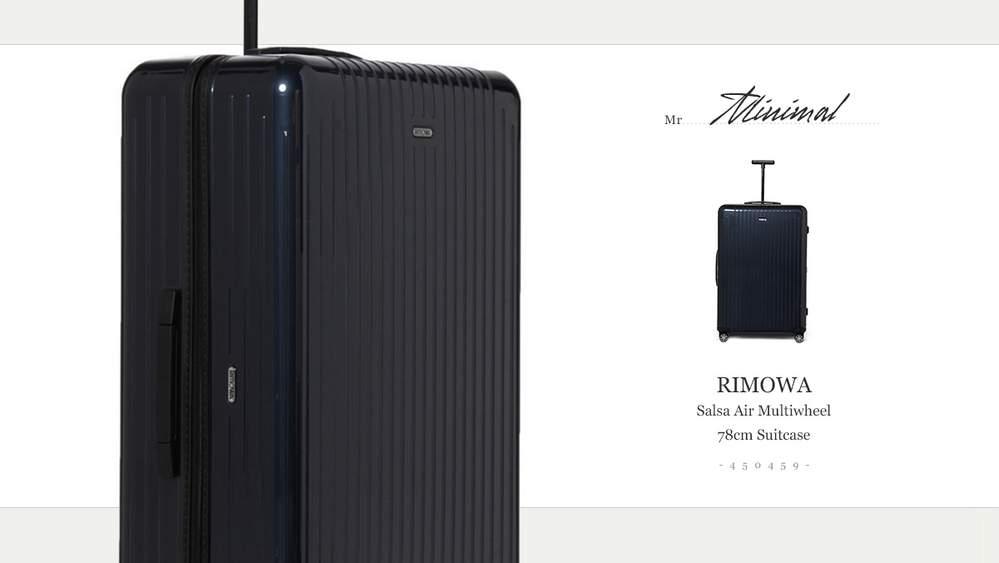 Легкий и удобный чемодан
