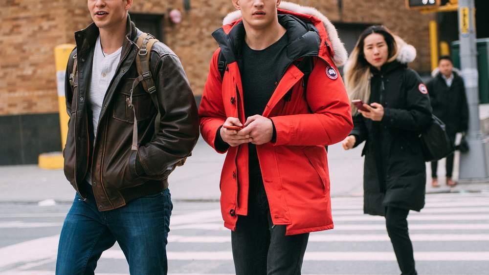 Канадская зимняя куртка