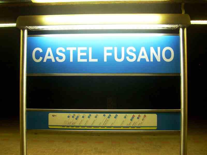 Castel Fusano Station