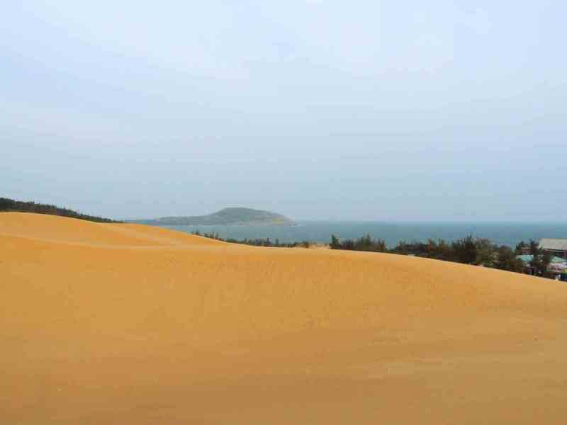 The Yellow Sand Dunes