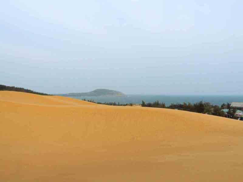 The Yellow Sand Dunes