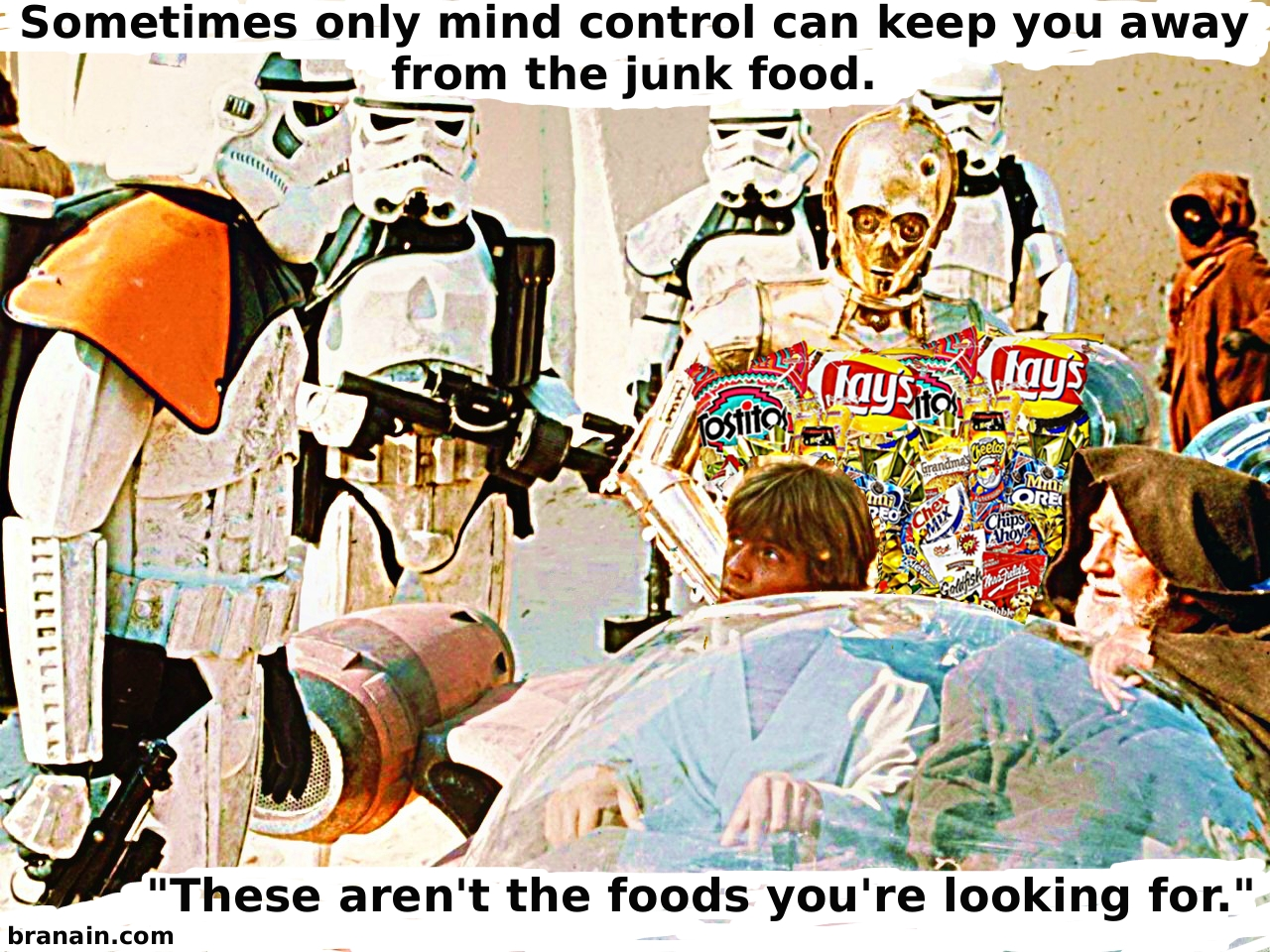 Star Warst How To Resist Junk Food