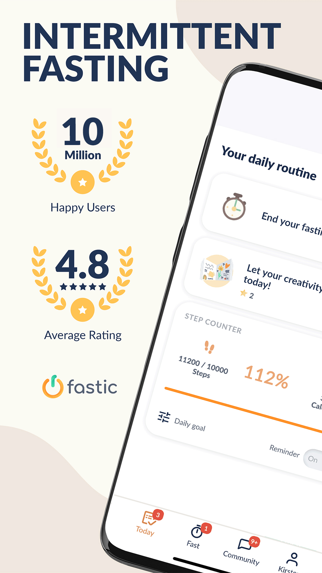 Fastic - The #1 for Intermittent Fasting