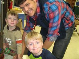 3 boys smiling