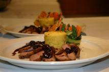 Fancy food on plate