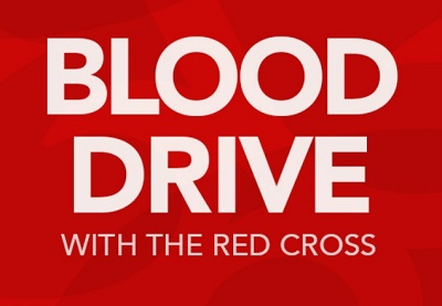 Blood Drive with the Red Cross