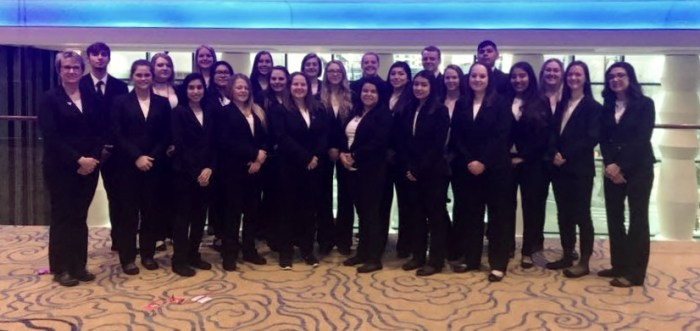 Students at HOSA State 2018