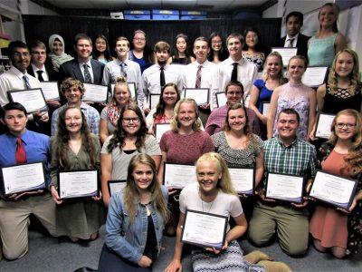 NTHS 2018 Inductees