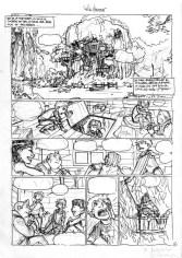 Fort Boyard - tome 1 - BenJ - Lannes - Le Roc'h - Odonne - saule pleureur - Storyboard