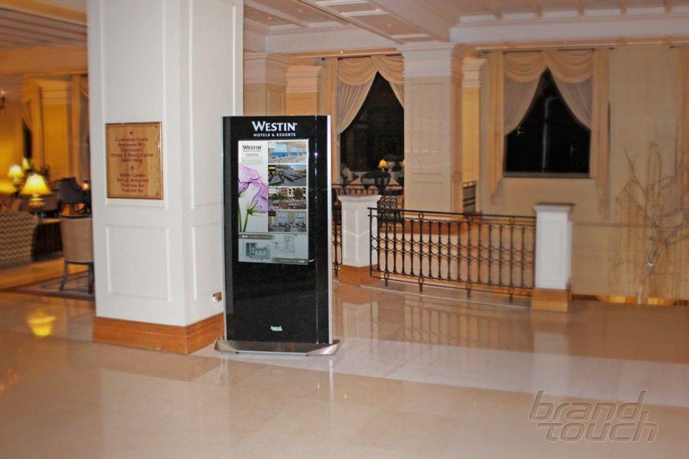 digital signage totem turismo
