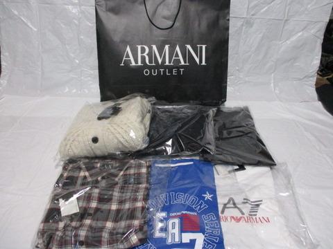 detailed look 86929 78dad アルマーニの3万円福袋の中身をヤフオクで全部売ってみた ...