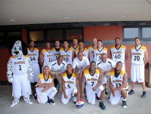 blazers basket ball team