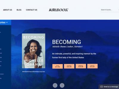 Airi - Clean, Minimal WooCommerce Theme Bookstore 1