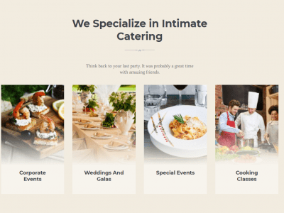 Alanzo - Personal Chef & Wedding Catering Event WordPress Theme 3