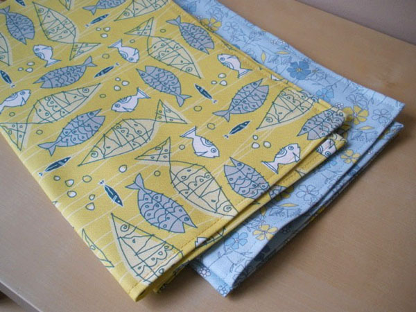 Brand Bird Tea Towels from Spoonflower Fabric