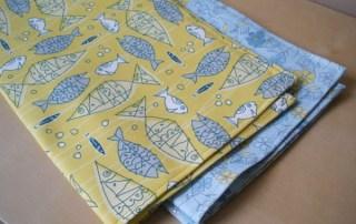 Brand Bird Tea Towels from Spoonflower Fabric