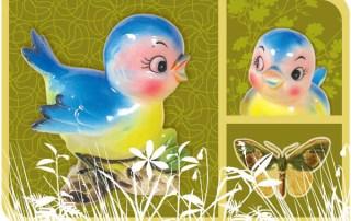 Blue Birds Sing of Spring