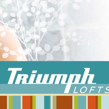 triumph lofts brand identity