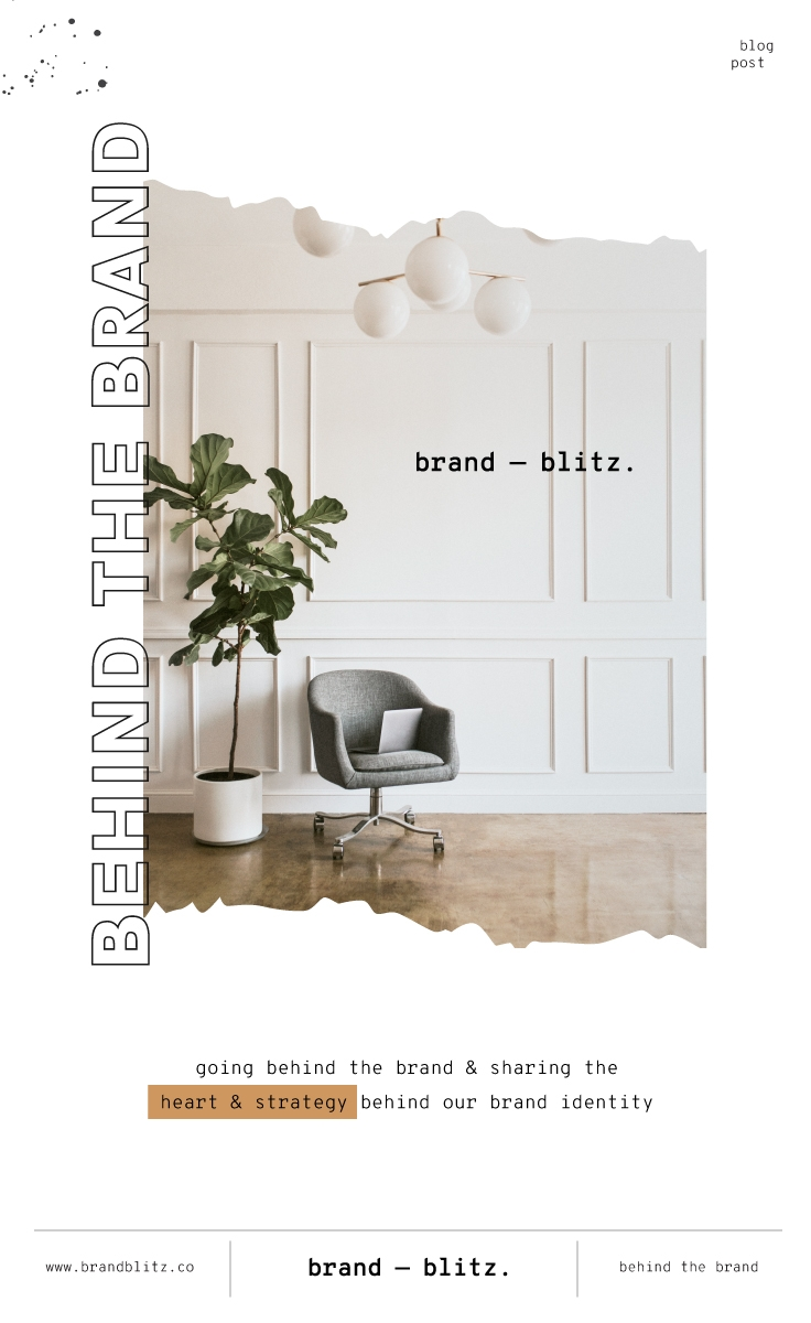 Behind the Brand Blog Post going in depth about Brand Blitz