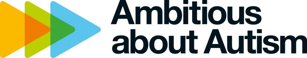 Ambitious about Autism logo visual
