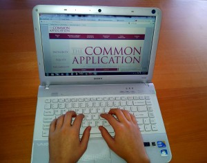 Online review for Common Application and Apply Texas applications