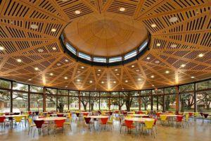 Dining hall at Rice University