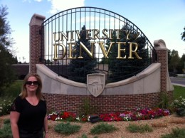Jolyn at University of Denver