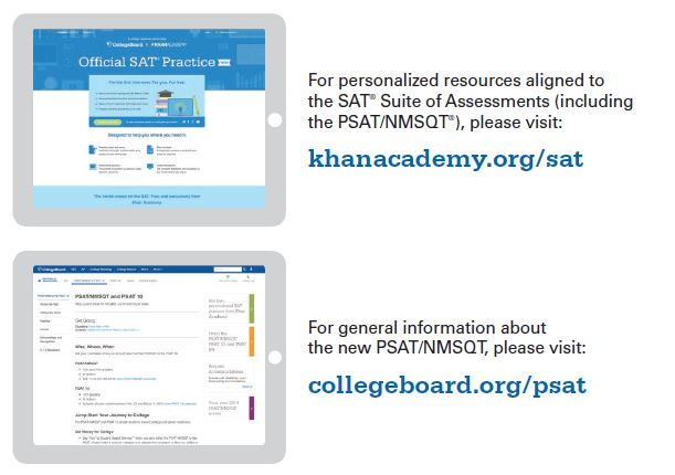 psat resources