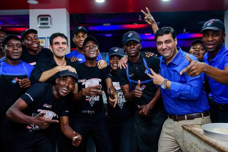 Domino's Pizza team.