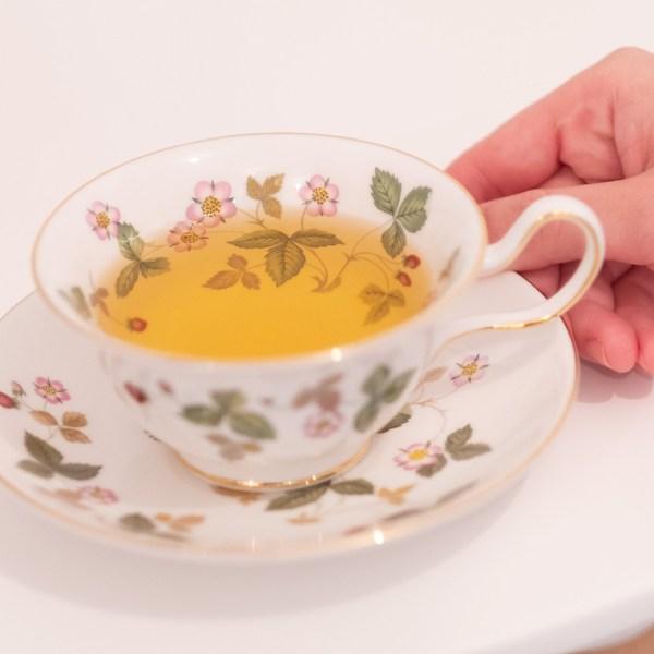 美味しいお茶のサービス