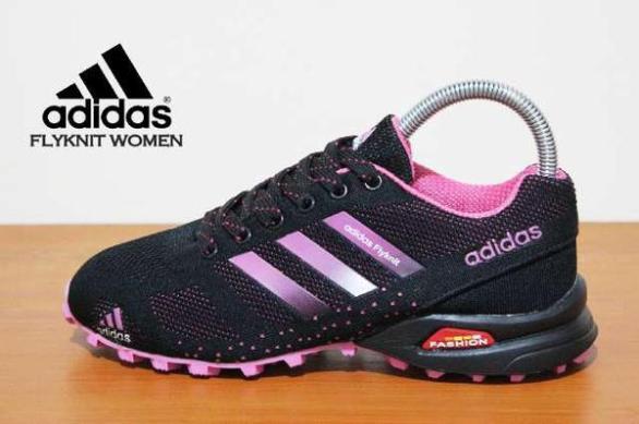 BA0050 Black Pink Adidas Flyknit Women - Rp. 260000