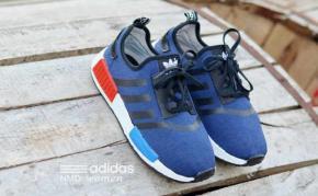 BA0117 Navy Black Adidas NMD Runner Women - Rp. 210000