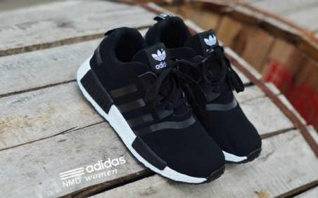 BA0121 Black Adidas NMD Runner Women - Rp. 210000