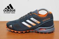 BA0150 Gray Adidas Flyknit Men - Rp. 260000