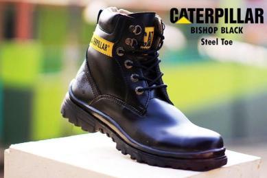 BC0229 Black Caterpillar Bishop Boot - Rp. 220000