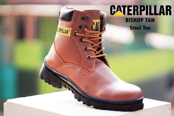 BC0231 Tan Caterpillar Bishop Boot - Rp. 220000