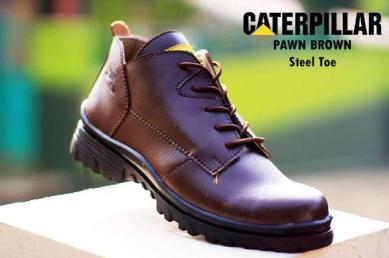 BC0238 Brown Caterpillar Pawn Boot - Rp. 220000