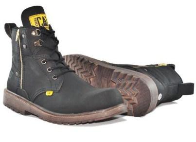 BC0262 Black Caterpillar Amazon Boot - Rp. 240000