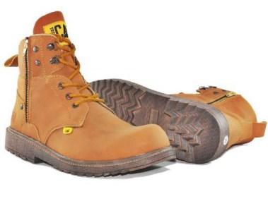 BC0264 Tan Caterpillar Amazon Boot Tan - Rp. 240000