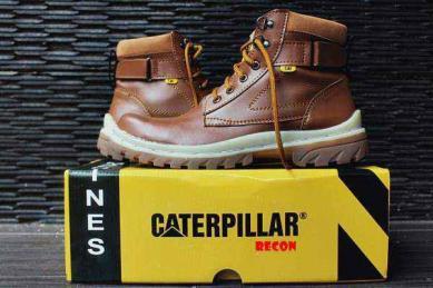 BC0373 Tan Caterpillar Recon Steel Toe - Rp. 210000