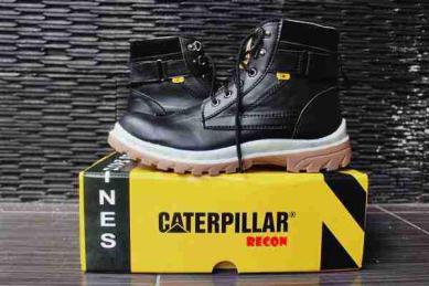 BC0374 Black Caterpillar Recon Steel Toe - Rp. 210000