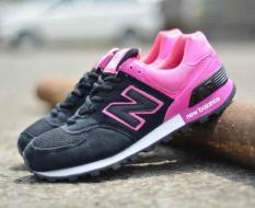 BN0105 Gray Pink New Balance 574 Women - Rp. 200000