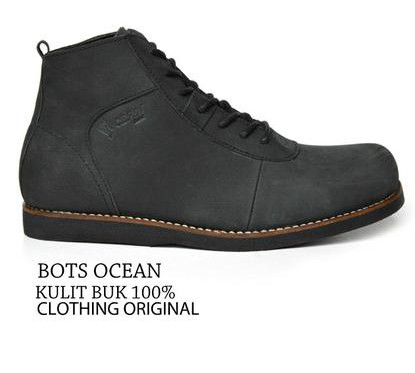 BO0353 Black Ocean Casual Boots Authentic - Rp. 250000