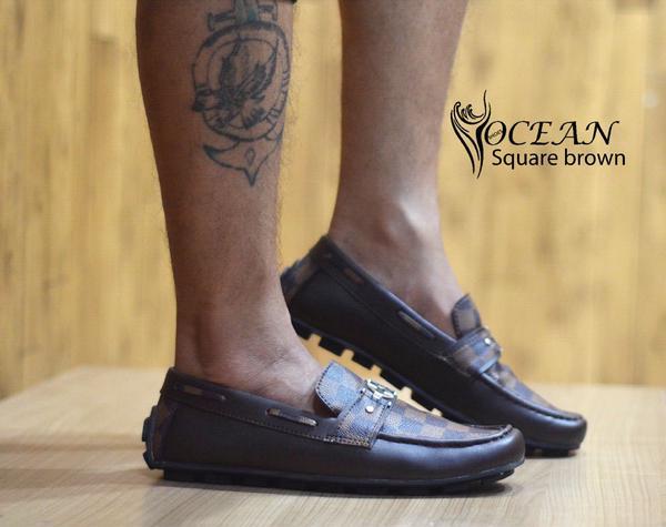 BO0356 Brown Ocean Slip On Square Authentic - Rp. 190000