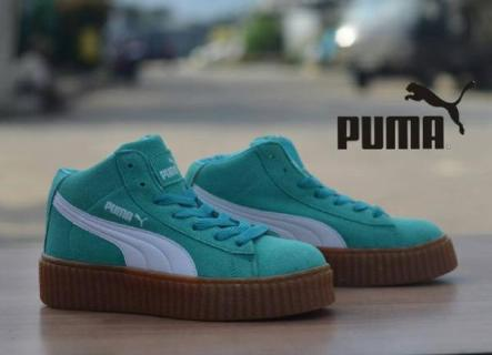 BP0226 Green Puma Rihanna High - Rp. 360000