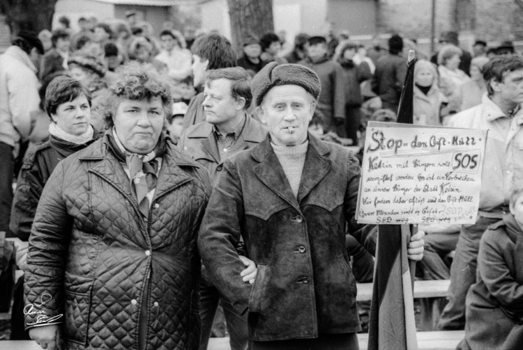 Ketzin/Havel - Demo gegen Giftmülldeponie
