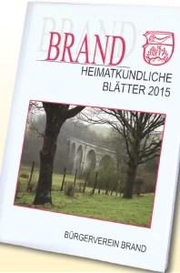 Heimatkundliche Blätter Aachen Brand