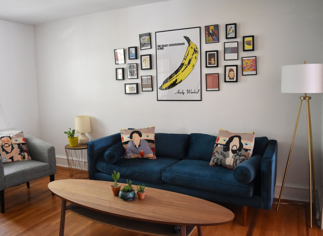 living room towards front