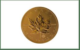 K24金 加拿大楓葉金幣